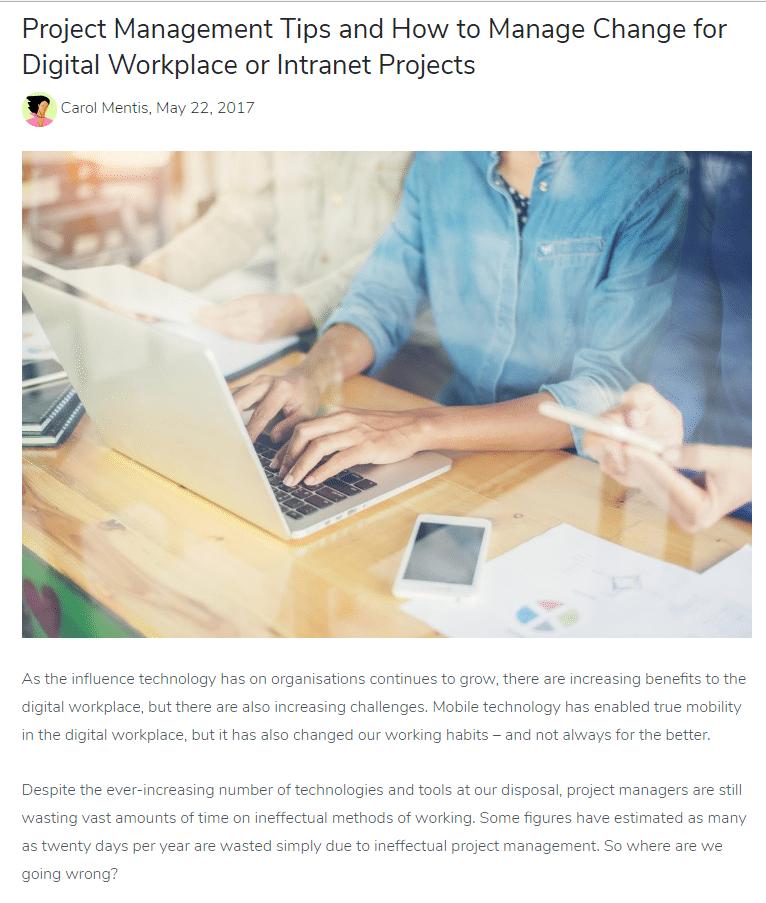 Hazel Butler Technical Writer Freelance Copywriter And Content Marketer Claromentis 2