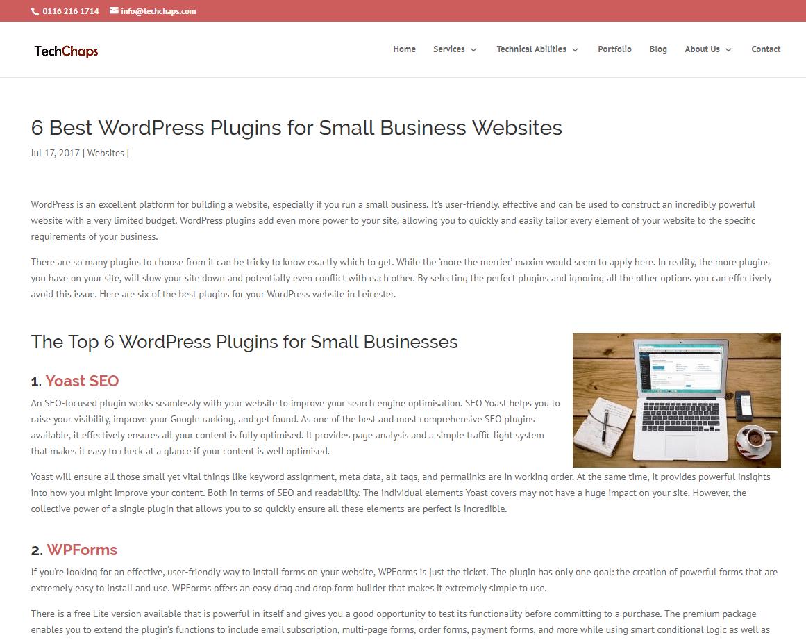 Hazel Butler Technical Writing Digital Marketing SEO Freelance Copywriter And Content Marketer Tech Chaps WordPress Plugins